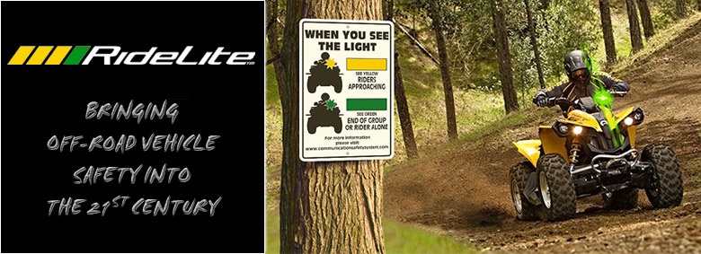 RideLite™ Bringing Off-Road Vehicle Safety Into the 21st Century